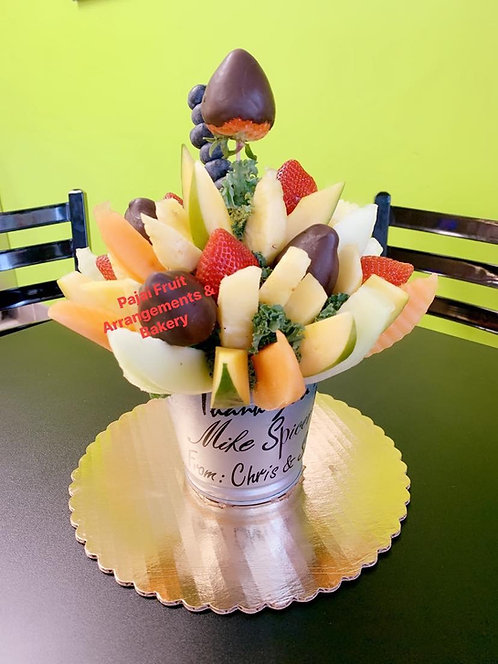 Fabulas fruit bonquet with personal message