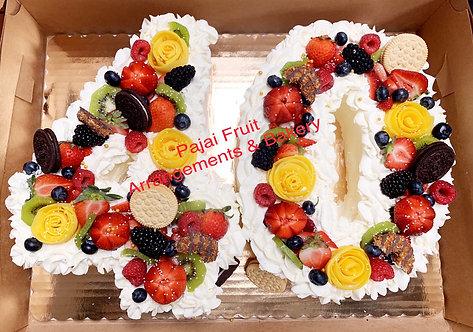 Number cake (2 digits number)