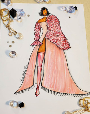 Doja cat inspired gown! #dojacat #fashio