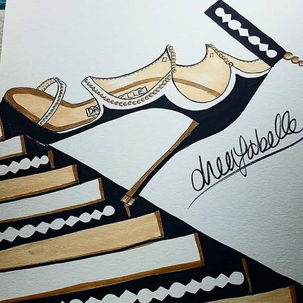 A pair of akoya pearl heels will make yo