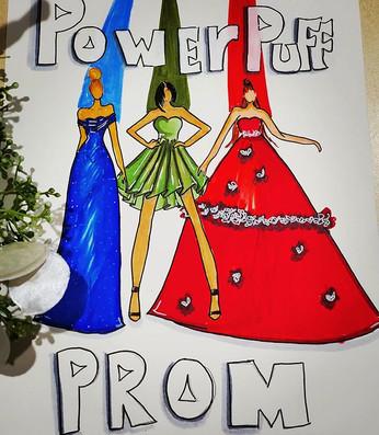 Something fun! Power puff prom #powerpuf