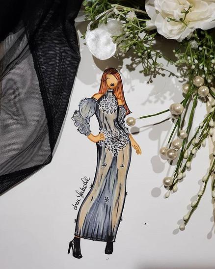 A lil sheer number #fashion #fashionil #