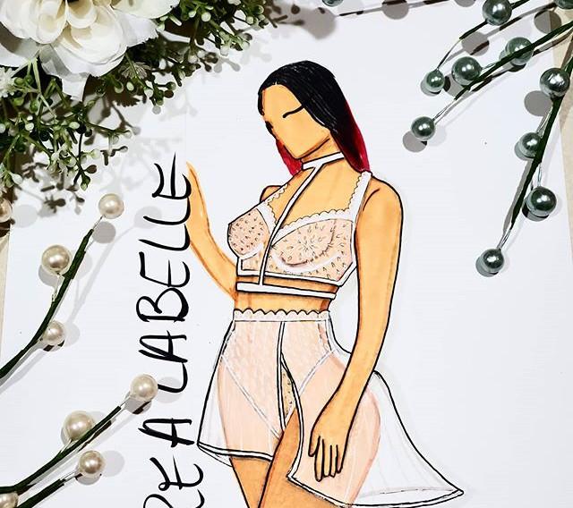 Some white lace lingerie #designlife #de