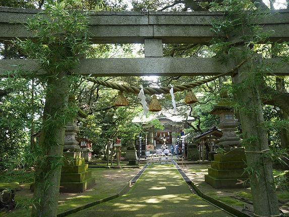 波自加彌神社 鳥居
