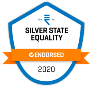 Silver State Equality Endorsement Seal -