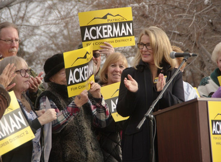 Patricia Ackerman racks-up more endorsements for her candidacy for U.S. Congress