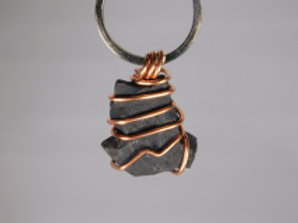 Shungite Pendant for Pets or Keychain