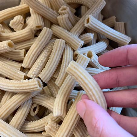Des pâtes semi-complètes