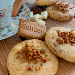 Cookies Chocolat blanc et Spéculoos
