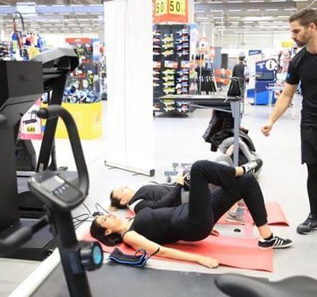 Séance Coaching chez Décathlon
