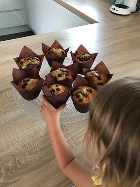 Muffins à la banane et Chunks de Chocolat