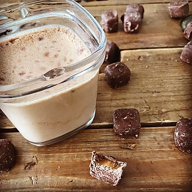 Crème dessert aux Mars