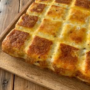 Omelette de PDT au four