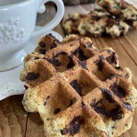 Gaufres cookies aux noix de Pécan