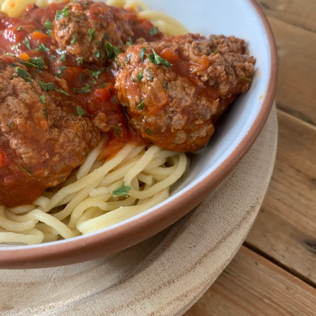 Spaghettis Boulettes