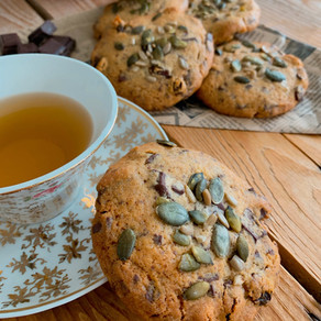 Cookies choco / raisins et graines