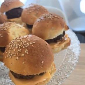 Mini Buns Burgers
