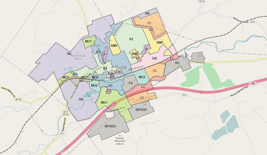 Cobleskill Zoning Districts