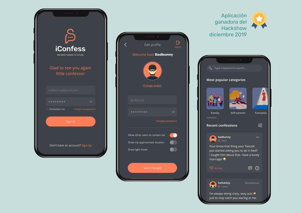 iConfess app