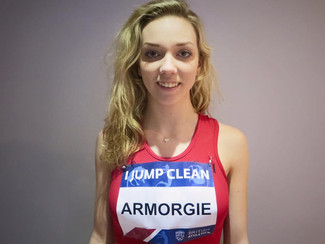 British Indoor Champs - Laura Armorgie