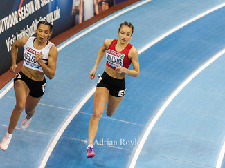 Hannah Williams Selected for World Indoor Champs