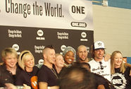 Humanitarian Event with Bone ONE Campaign, Princess Zulu, Daughtry
