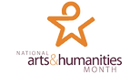 arts and humanitites month logo