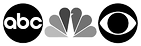 abc nbc cbs logo