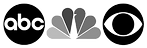 abc nbc cbs logo