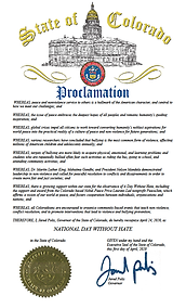 Day Without Hate Proclamation