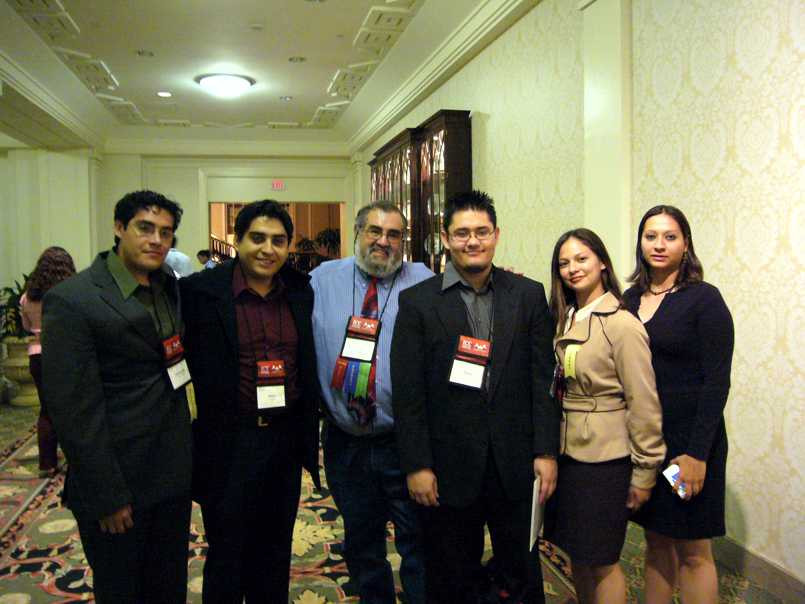 SACNAS Conference with Prof. Frank Talamantes