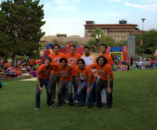 At UTEP's Splash 'n Sparks