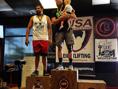 Congrats to Coaches Logan Frank and Coach LT both going qualifying for the American Open Olympic Wei