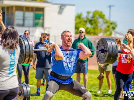 Sunday's Olympic Weightlifting seminar was awesome. Friday and Saturday LT and Logan lift at the Ame