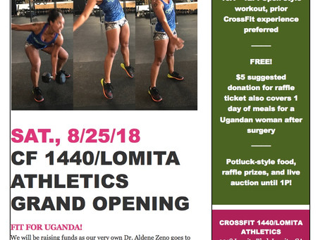 ThisSaturday the 25this our internal grand opening. 9-1pm. Potluck, workoutandraffleFit for Uga