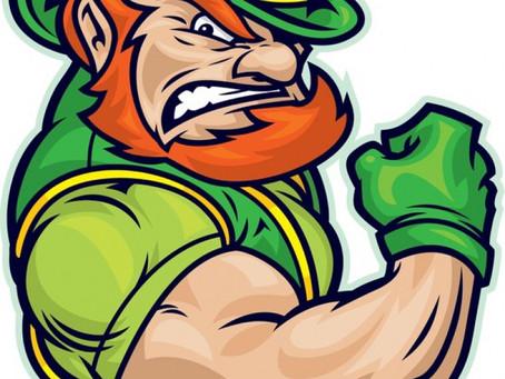 St. Patrick's day week is here.  Regular schedule til further noticed. crossfit kids could happen.