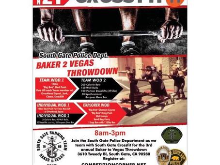 The Baker to Vegas Throwdown!