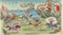 089. 年画02077 中国美术馆藏 杨柳青木刻手绘戏曲年画 天津:Zhao