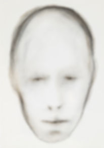 Face (2008),Pastel on paper,29.5 x 20.5