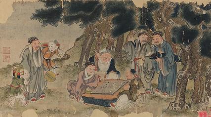 007. 年画00056 中国美术馆藏:Gathering of the Fou