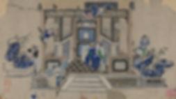 027. 年画00037 中国美术馆藏 天津杨柳青年画:Pavilion of