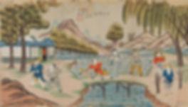 011. 年画00055 中国美术馆藏 天津杨柳青年画:After Midnig