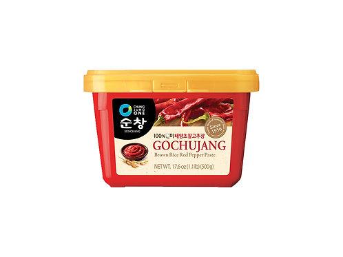 (10/BOX) Gochujang - Pâte de Piment rouge 500 g