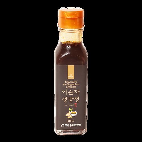 Concentré de gingembre artisanal 120 ml