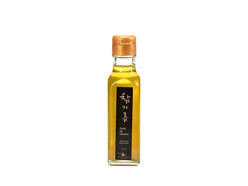 (5/BOX) Huile de Sésame premium 100% naturel 120 ml