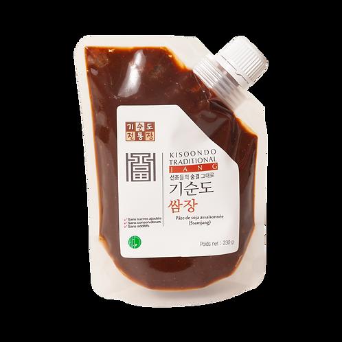 Pâte de soja assaisonnée - SSamjang de Kisoondo 230 g