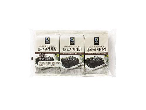 (20/BOX) Crackers d'algues 5 g x 3