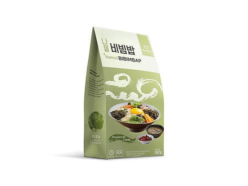 Kit Namul Bibimbap avec Pâte de Piment aux Fraises & Soupe de Pâte de Soja 217 g