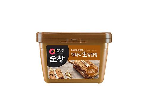 (10/BOX) Doenjang - Pâte de Soja fermentée 500 g
