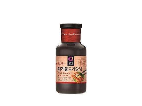 Sauce Bulgogi épicée pour marinade de porc 280 g